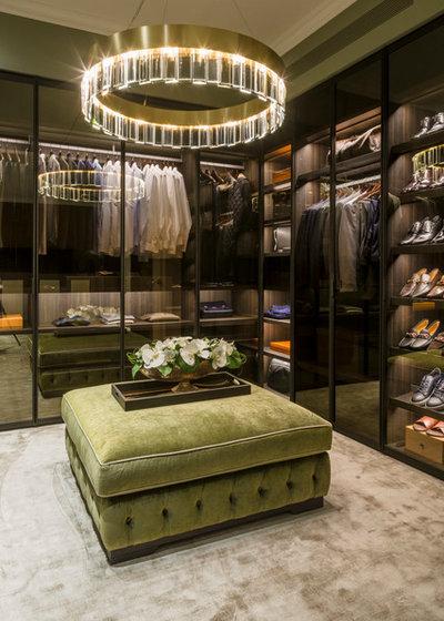 Contemporary Closet by Studio 28 Interiors Ltd