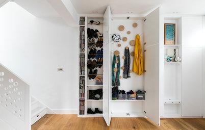 10 dezente Stauraum-Ideen für den Eingangsbereich