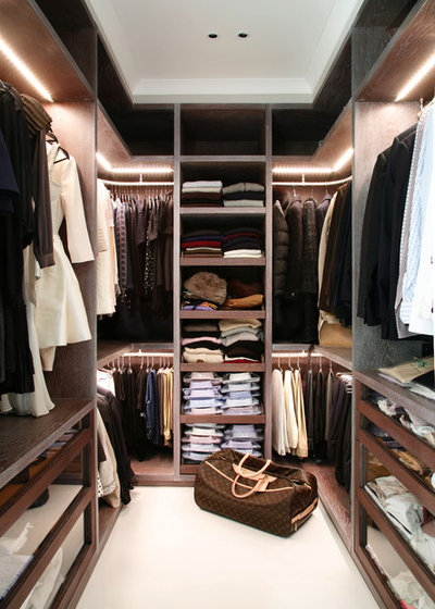 Contemporary Closet by VSP Interiors