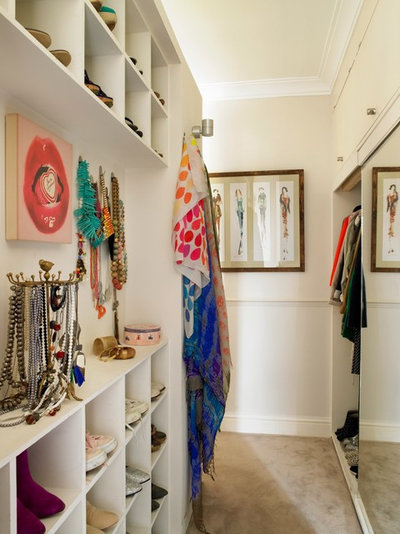 Closet by Clare Gaskin Interiors