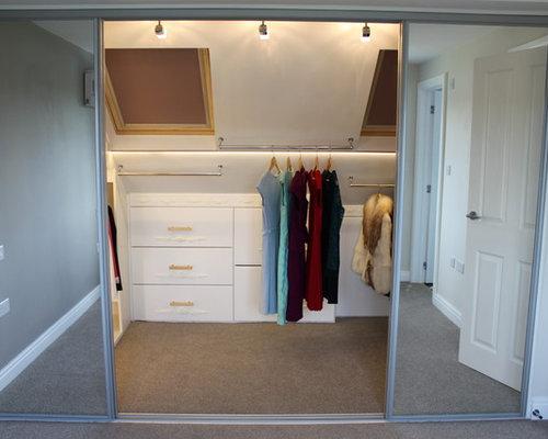 Armoires et dressings chambre mansard e photos et id es d co d 39 armoires - Meuble chambre mansardee ...