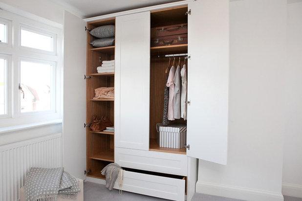 C mo elegir las puertas m s adecuadas para los armarios for Roperos para habitaciones pequenas