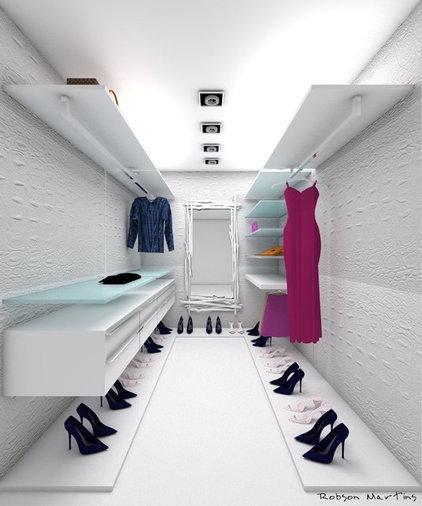 Modern Closet by Studio Robson Martins