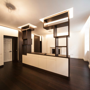 Inspiration for a contemporary closet remodel in London