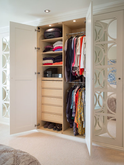 Transitional Wardrobe by Acastrian Bespoke Fitted Furniture