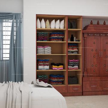 Mr.Kulasekar, 2BHK Apartment interior design | Tondiarpet, Chennai