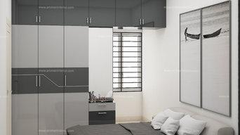 Mr.Sugavanan Apartment interior design | Radiance shine, Padur, OMR