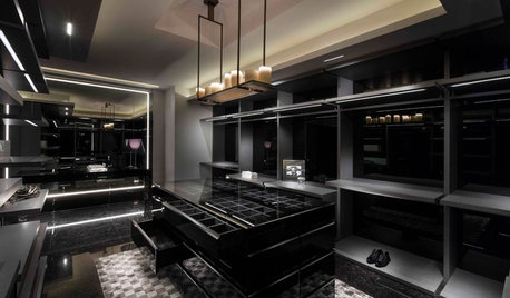 Mumbai Houzz: A One-Bedroom Penthouse Suite Spells Black Magic
