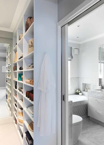 Contemporary Closet by amorybrown.co.uk