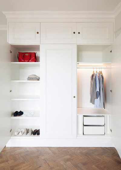 Traditional Closet by Ardesia Design