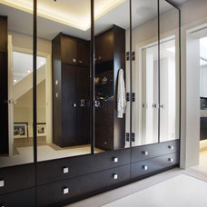 Contemporary Closet by Alex Maguire Photography