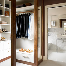 Contemporary Closet by Amory Brown