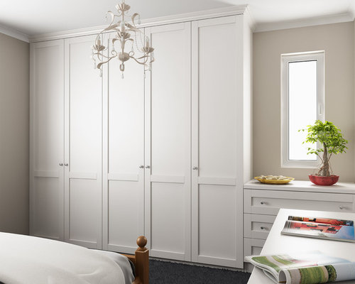 Shaker Style Wardrobe Design Ideas Amp Remodel Pictures Houzz