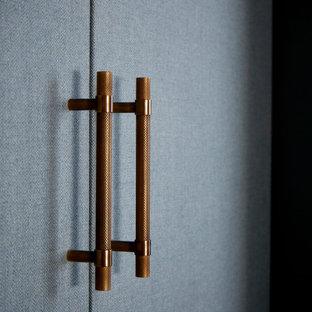 ロンドンのトランジショナルスタイルのおしゃれな収納・クローゼットの写真