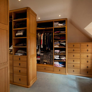 Design ideas for a large traditional storage and wardrobe in Surrey.