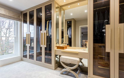 Clever & Stunning Wardrobe Designs With Built-In Dressers