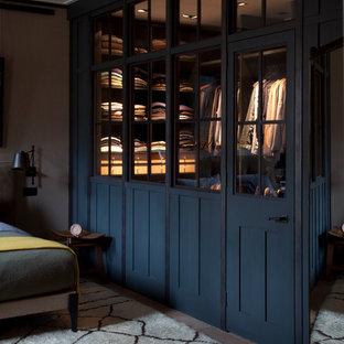 Неиссякаемый источник вдохновения для домашнего уюта: гардеробная в стиле лофт