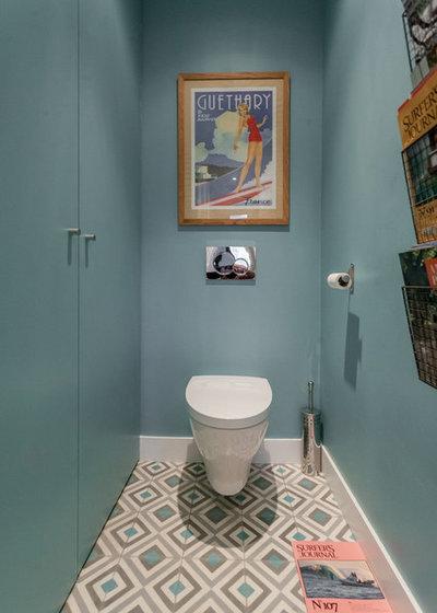 Contemporain Toilettes by FORT SALIER ARCHITECTES