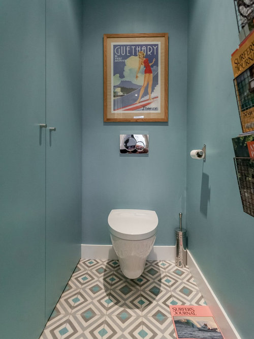 Photos et id es d co de wc et toilettes - Idees deco toilettes photos ...