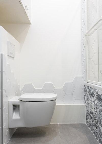 Contemporain Toilettes by Mon Concept Habitation | Paris, Lille, London
