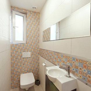 Moderne Gästetoilette & Gäste-WC in Toulouse: Ideen für ...