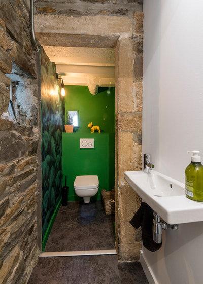 Contemporain Toilettes by Atelier d'Ar(t)chitecture Aurélie NICOLAS