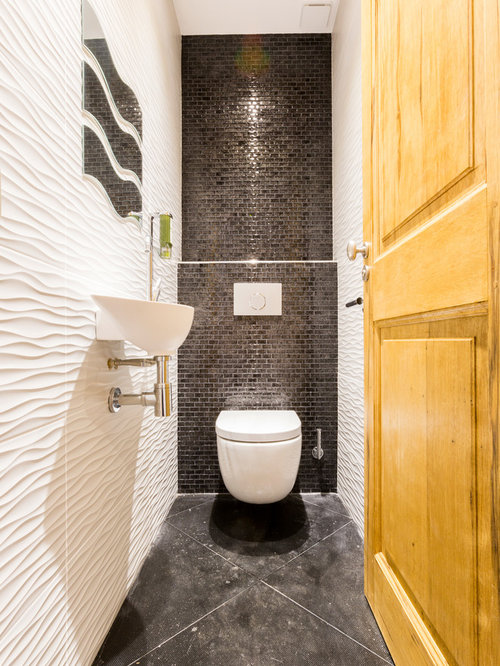Photos et id es d co de wc et toilettes for Idee deco toilette design