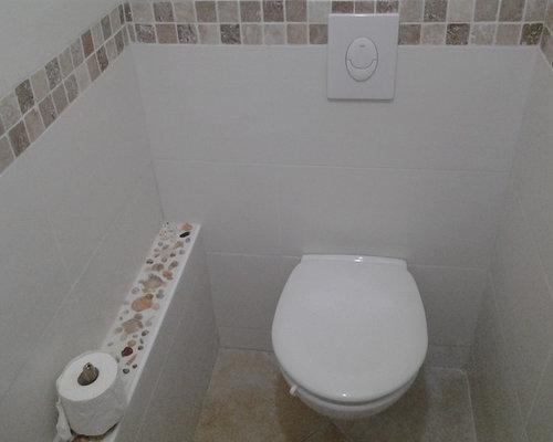 Faience wc avec mosaique