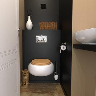 Moderne Gästetoilette & Gäste-WC in Montpellier: Ideen für ...