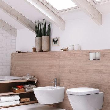 Installations sanitaires avec matériel Geberit