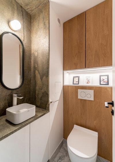 Contemporain Toilettes by Raphaëlle Soleil