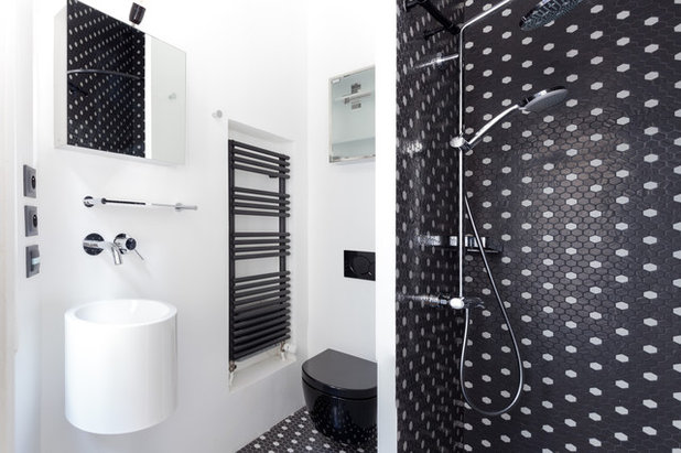 Contemporain Toilettes by CORE ARCHITECTURES