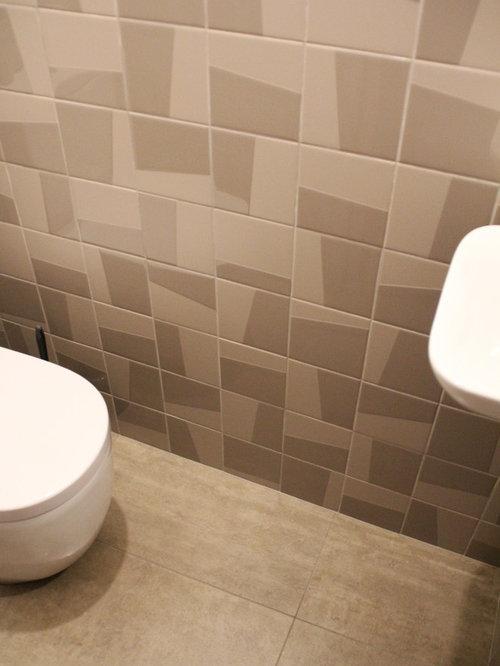 Photos et idées déco de WC et toilettes avec sol en stratifié et un ...