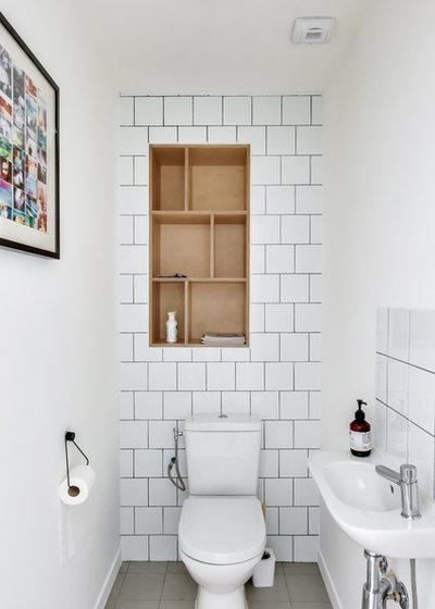 コンテンポラリー トイレ・洗面所 by Transition Interior Design
