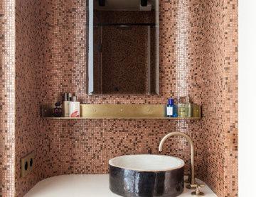 Projet salle de bain mosaïque bisazza