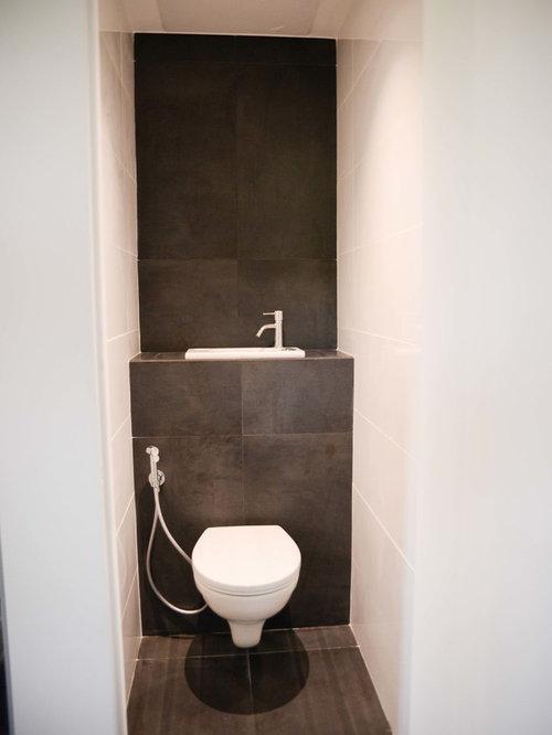 Photos et idées déco de WC et toilettes avec un plan de toilette ...