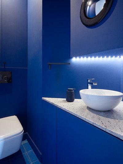Contemporain Toilettes by Saison Architectes