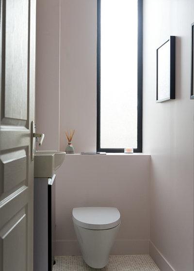 Remplacer des wc par des toilettes suspendues mode d 39 emploi - Remplacer un bidet par un wc ...