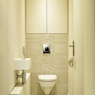 Photos Et Idées Déco De Wc Et Toilettes Avec Un Mur Beige France
