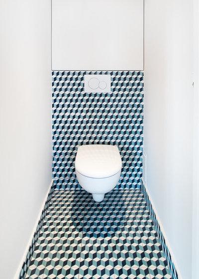Contemporain Toilettes by Busca architecture