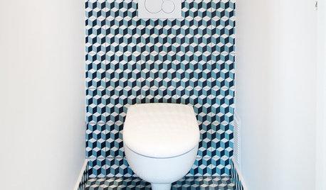 Photothèque : 50 WC suspendus parfaitement mis en scène