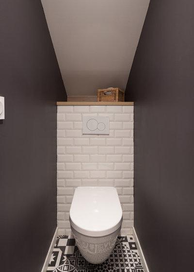 Industriel Toilettes by Prisca Pellerin Architecture & Intérieur