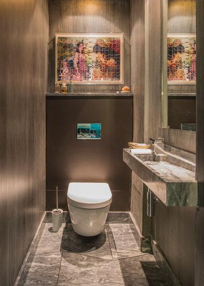 Contemporain Toilettes by Fabrice Ausset - Architecte DPLG