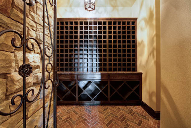 Traditional Wine Cellar by Jeff Watson Homes, Inc.
