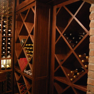 Inspiration for a timeless wine cellar remodel in Miami
