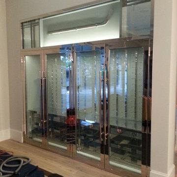 13-52 Boca Raton, FL: Custom Wine Display Cabinet