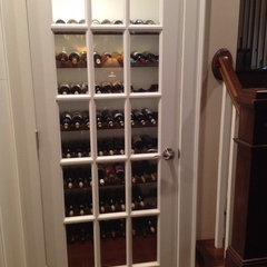 traditional wine cellar by Steorts Homebuilders, LLC