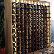 Modern Wine Cellar by Wine Racks America