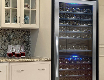 149 Bottle Seamless Dual-Zone Wine Cooler