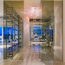 Modern Wine Cellar by SoJo design